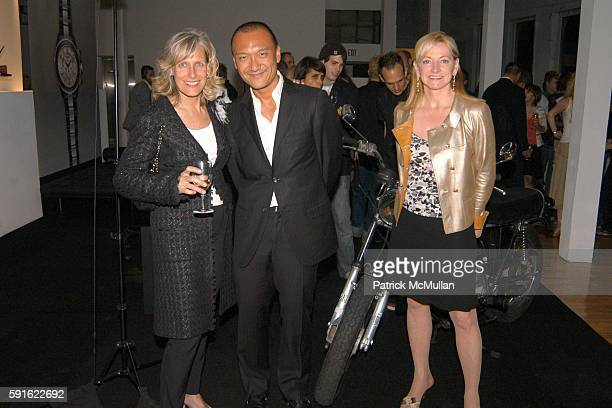 Sharon Slade Joe Zee and Barbara Cirkva attend Chanel J12 and Joe Zee editorinChief of Vitals invite you to discover Pour Homme the new J12 watch for...