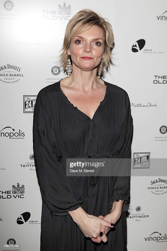 Sharon Small attends an after party celebrating the 24 Hour Musicals Gala Performance at Vinopolis on December 9, 2012 in London, England.