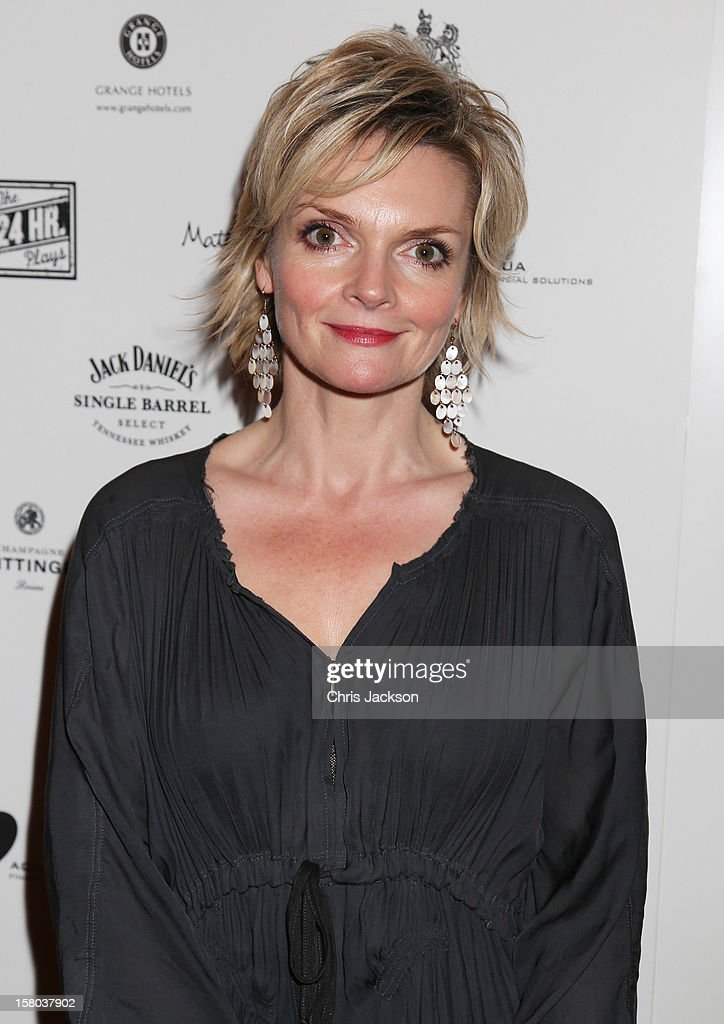 Sharon Small attends the post-show party, The 25th Hour, following The Old Vic's 24 Hour Musicals Celebrity Gala 2012 during which guests drank Jack Daniels Single Barrel, Curtain Raiser cocktails in The Great Halls, Vinopolis, Borough on December 9, 2012 in London, England.