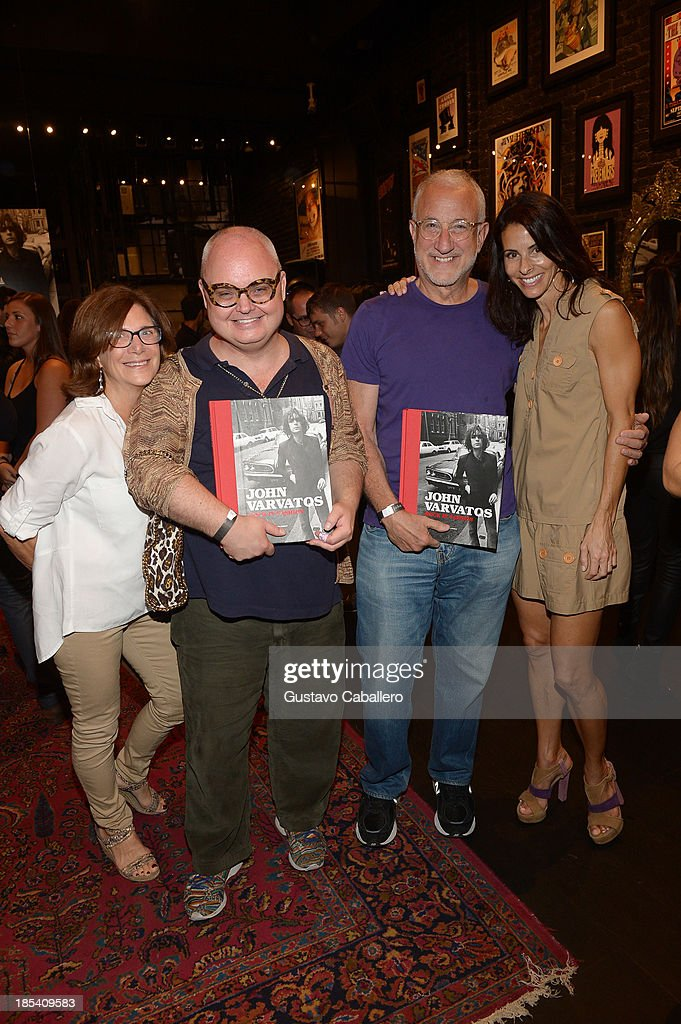 Sharon Socol,Mickey Boardman,Howard Socol and Joyce Varvatos attends the Rock in Fashion Book Launch at John Varvatos South Beach Miami on October 19, 2013 in Miami, Florida.