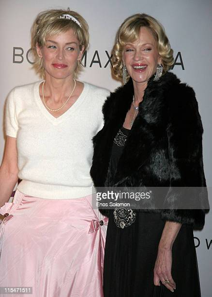 Sharon Stone and Melanie Griffith during Sharon Stone and Kelly Stone Host the First Annual Planet Hope 'Class Of Hope Prom 2007' Charity Benefit at...