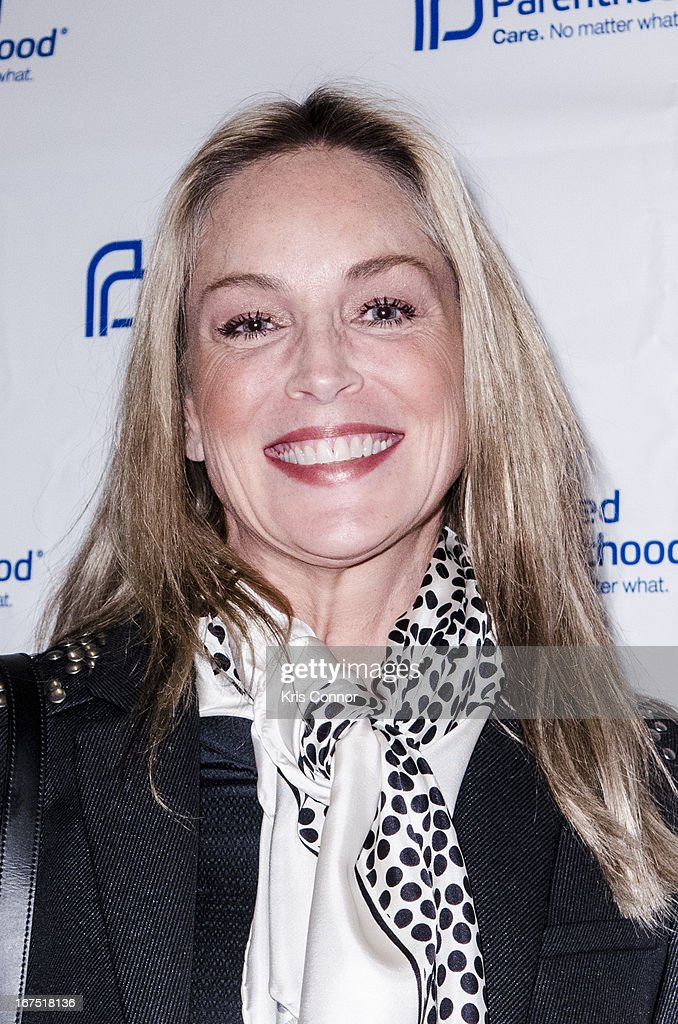<a gi-track='captionPersonalityLinkClicked' href=/galleries/search?phrase=Sharon+Stone&family=editorial&specificpeople=156409 ng-click='$event.stopPropagation()'>Sharon Stone</a> attends Planned Parenthood Federation of America's VIP Reception at the Marriott Wardman Park Hotel on April 25, 2013 in Washington, DC. (Photo by Kris Connor/Getty Image