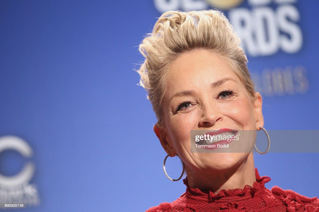 Sharon Stone attends the 75th Annual Golden Globe Nominations Announcement on December 11, 2017 in Los Angeles, California.