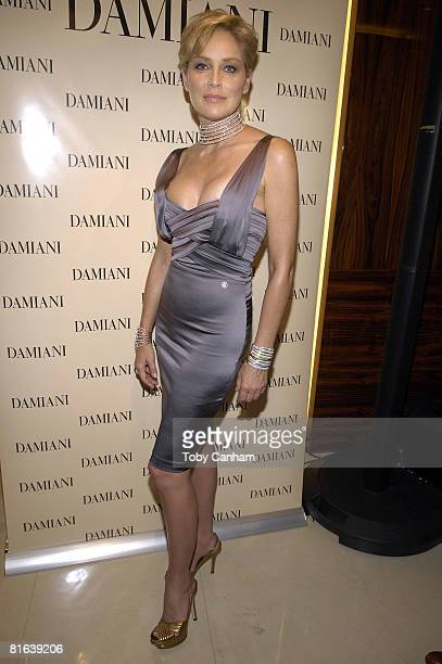 Sharon Stone attends the Damiani special event June 19 2008 at Damiani in Beverly Hills California
