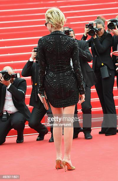 Sharon Stone attends 'The Search' Premiere at the 67th Annual Cannes Film Festival on May 21 2014 in Cannes France
