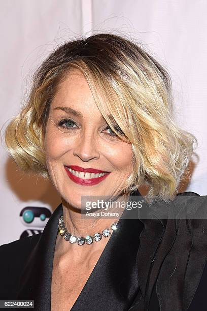 Sharon Stone attends the The TMA 2016 Heller Awards on November 10 2016 in Beverly Hills California