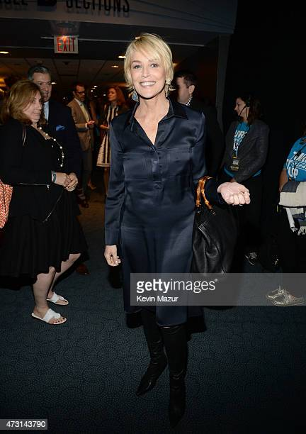Sharon Stone attends the Turner Upfront 2015 at Madison Square Garden on May 13 2015 in New York City 25201_002_KM_1711JPG