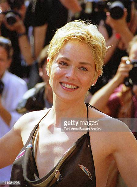 Sharon Stone during 51st Cannes Film Festival in Cannes France