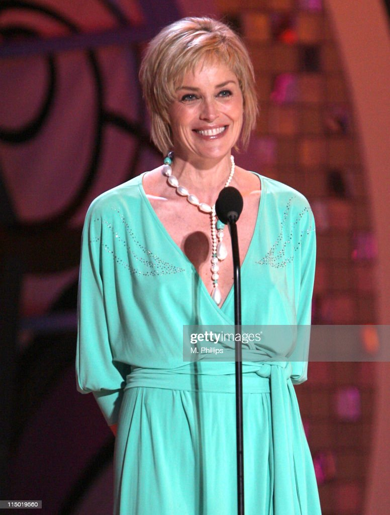 <a gi-track='captionPersonalityLinkClicked' href=/galleries/search?phrase=Sharon+Stone&family=editorial&specificpeople=156409 ng-click='$event.stopPropagation()'>Sharon Stone</a> during 5th Annual TV Land Awards - Show at Barker Hangar in Santa Monica, California, United States.