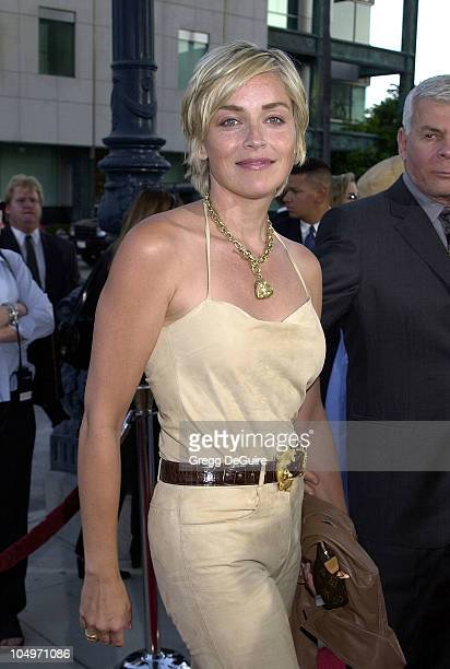 Sharon Stone during 'AI Artificial Intelligence' Los Angeles Premiere at Academy Of Motion Picture Arts Sciences in Beverly Hills California United...
