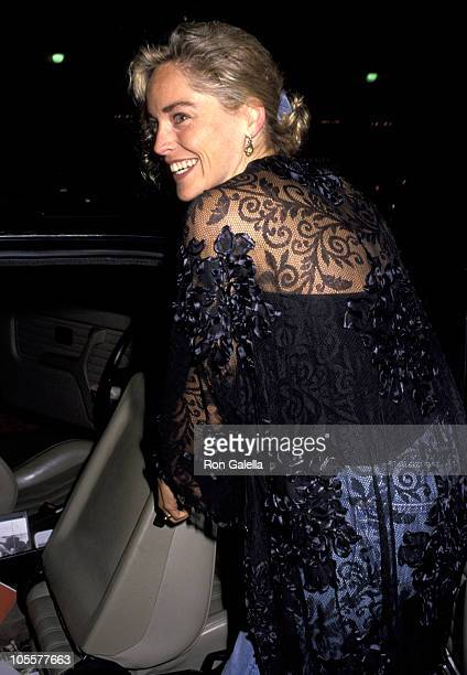 Sharon Stone during 'Alien 3' Los Angeles Premiere at Cineplex Odeon Theater in Century City California United States