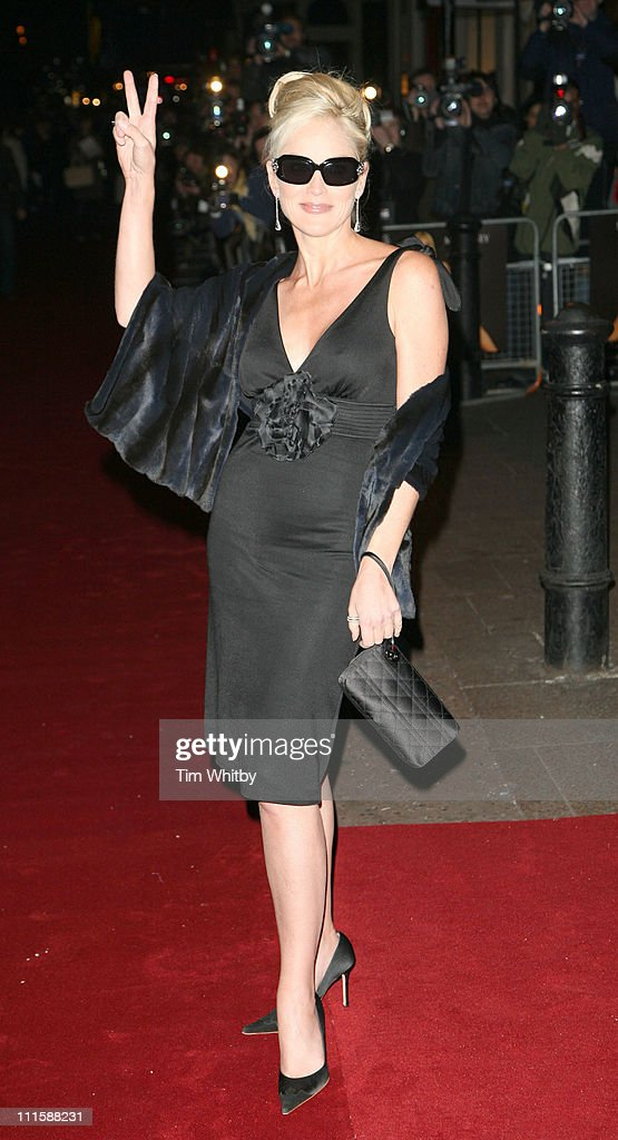 Sharon Stone during 'Basic Instinct 2: Risk Addiction' World Premiere - Outside Arrivals at Vue Leicester Square in London, Great Britain.