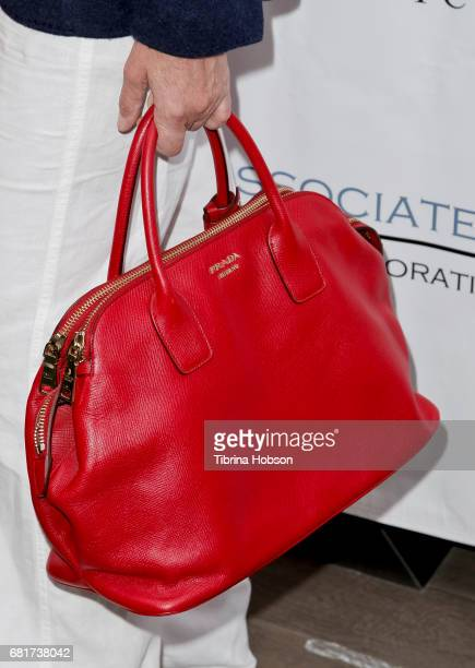 Sharon Stone fashion detail attends The Associates for Breast and Prostate Cancer Studies annual Mother's Day Luncheon at Four Seasons Hotel Los...