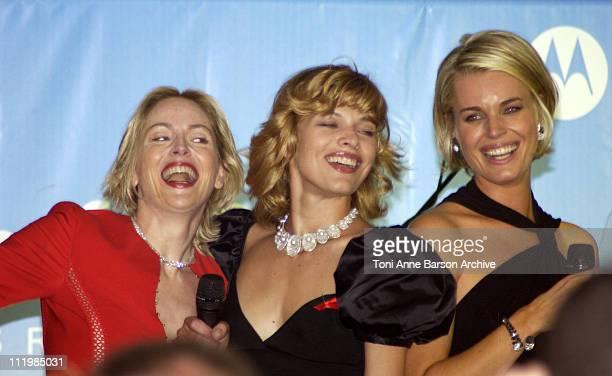Sharon Stone Milla Jovovich and Rebecca Romijn Stamos