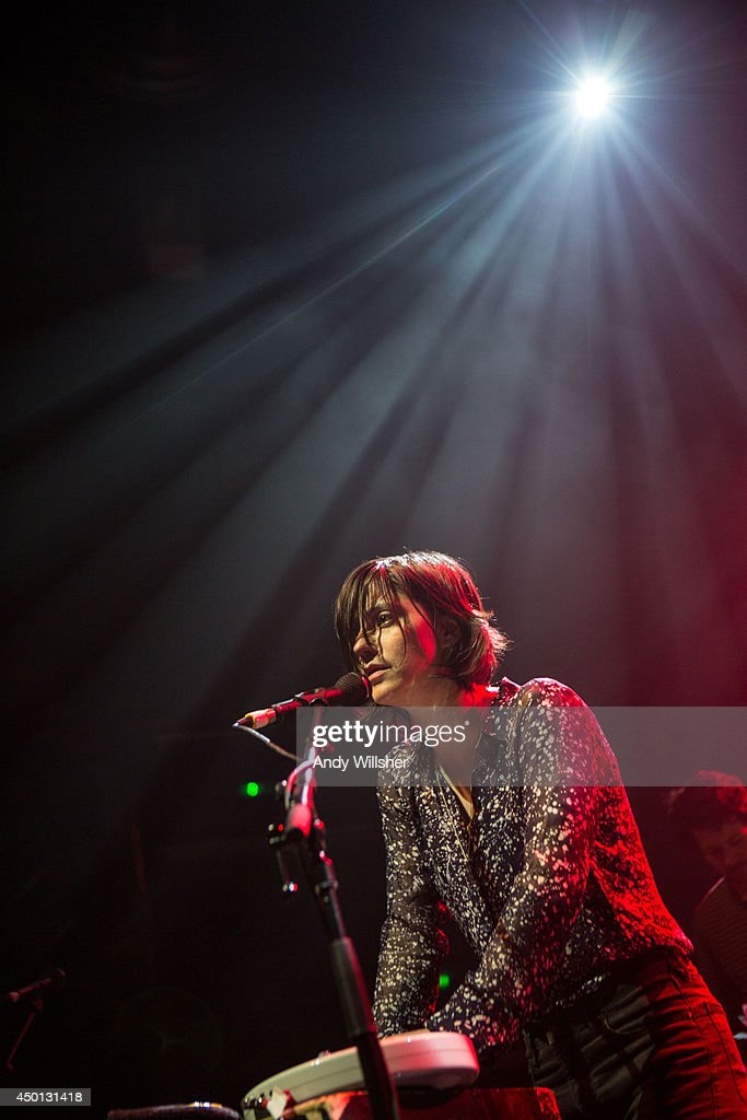 Sharon Van Etten performs on stage at KOKO on June 5 2014 in London United Kingdom
