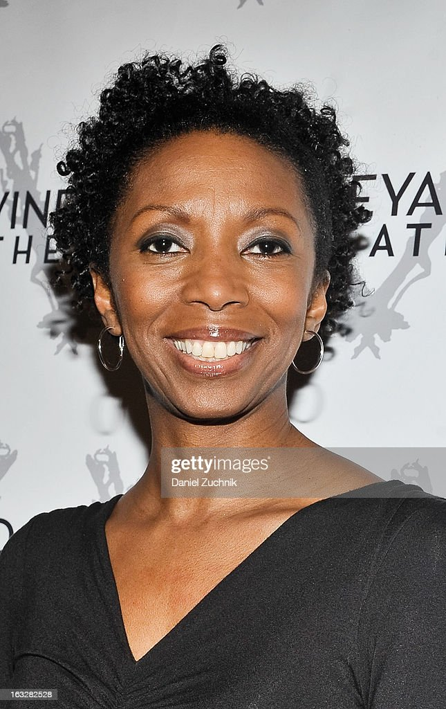 Sharon Washington attends the off Broadway opening night of 'The North Pool' at Vineyard Theatre on March 6, 2013 in New York City.