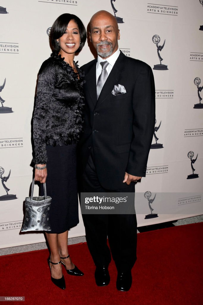 Sharon Young and Keith Young attend the Academy of Television Arts & Sciences' 'The Choreographers: Yesterday, Today & Tomorrow' event at Leonard H. Goldenson Theatre on November 1, 2012 in North Hollywood, California.