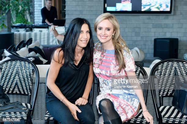 Sharona Alperin and Lindsay Berger Sacks attend Women's Cancer Research Fund Taschen Celebrate 'David Hockney A Bigger Book' Collaboration on May 23...