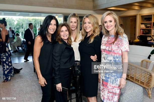 Sharona Alperin Jodi Guber Kelly Styne Kelly Campbell and Lindsay Berger Sacks attend Women's Cancer Research Fund Taschen Celebrate 'David Hockney A...