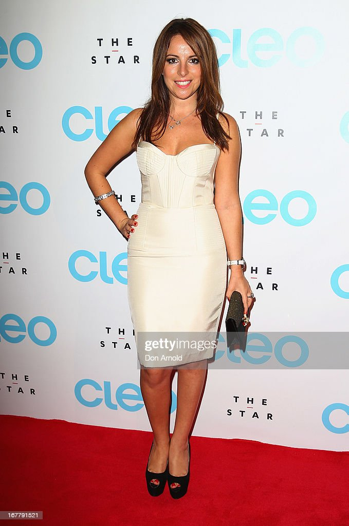 Sharri Markson attends the CLEO magazine relaunch party at The Star on April 30, 2013 in Sydney, Australia.