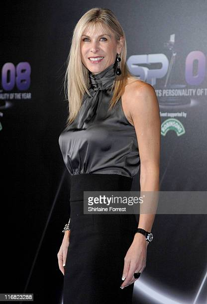 Sharron Davies attends the BBC Sports Personality of the Year awards at the Liverpool Echo Arena on December 14 2008 in Liverpool England