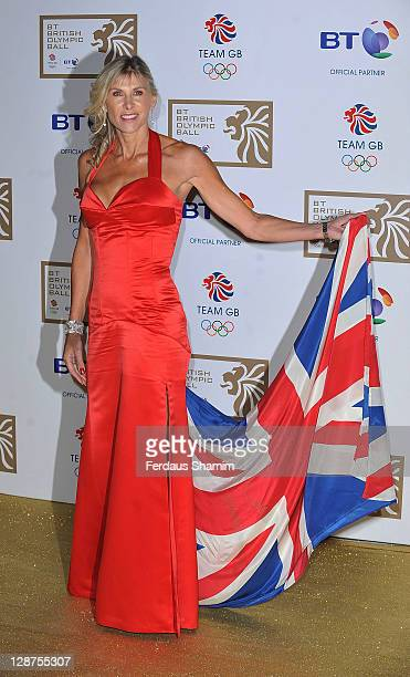 Sharron Davies attends the British Olympic Ball at Olympia Exhibition Centre on October 7 2011 in London England
