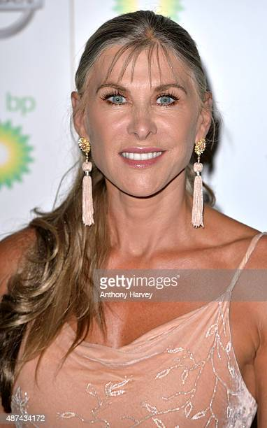 Sharron Davies attends the Team GB Ball at The Royal Opera House on September 9 2015 in London England