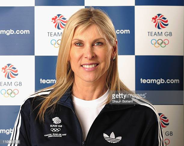 Sharron Davies Team GB 2012 Amassador poses for a portrait on March 28 2011 in London England