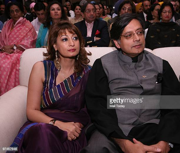 MOS Shashi Tharoor during the launch of the book The Last SunsetThe Rise and Fall Of Lahore by former Punjab Chief Minister Amarinder Singh in New...