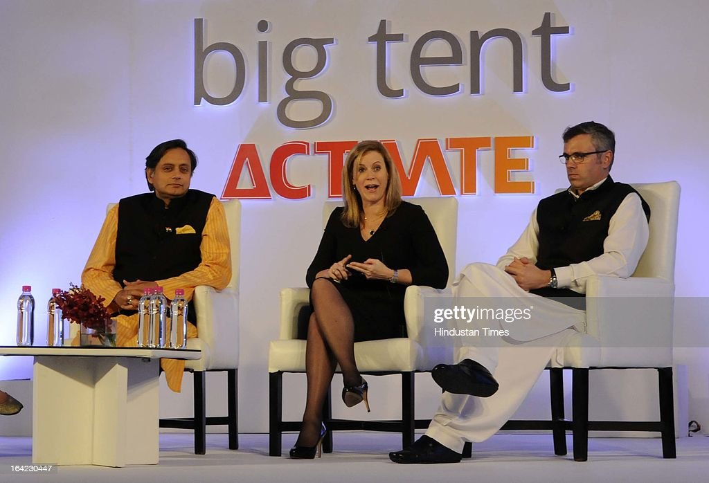 Shashi Tharoor MoS Human Resource Minister Stephanie Cutter Deputy C&aign Manager for Barak Obama  sc 1 st  Getty Images & Google Big Tent Activate Summit 2013 Photos and Images | Getty Images