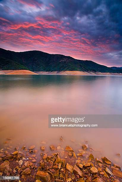 Shasta Lake Sunset