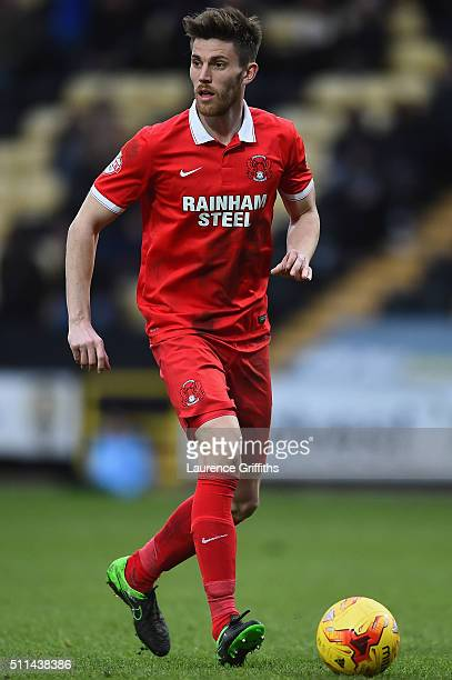 Shaun Brisley of Leyton Orient in action during the Sky Bet League Two match between Notts County and Leyton Orient at Meadow Lane on February 20...