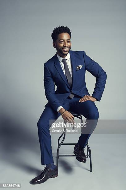 Shaun Brown poses for a portrait at the 2017 People's Choice Awards at the Microsoft Theater on January 18 2017 in Los Angeles California