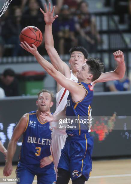 Shaun Bruce during the match between the Brisbane Bullets and China at the Gold Coast Sports Leisure Centre on July 18 2017 in Gold Coast Australia