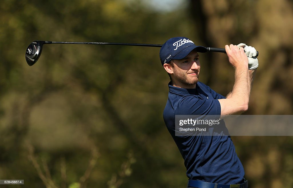 Shaun Collins of Dyrham Park Country Club during the PGA Assistants Championship East Qualifier at Ipswich Golf Club on May 5, 2016 in Ipswich, England.