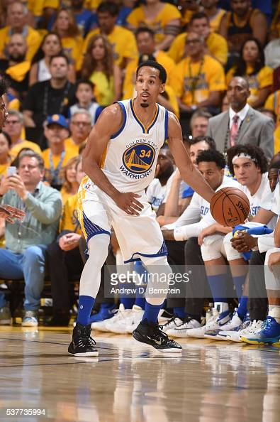 Shaun Livingston of the Golden State Warriors dribbles the ball against the Cleveland Cavaliers in Game One of the 2016 NBA Finals on June 2 2016 at...