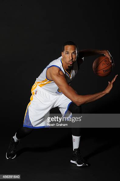 Shaun Livingston of the Golden State Warriors poses for media day photos on September 29 2014 at the Warriors practice facility in Oakland California...