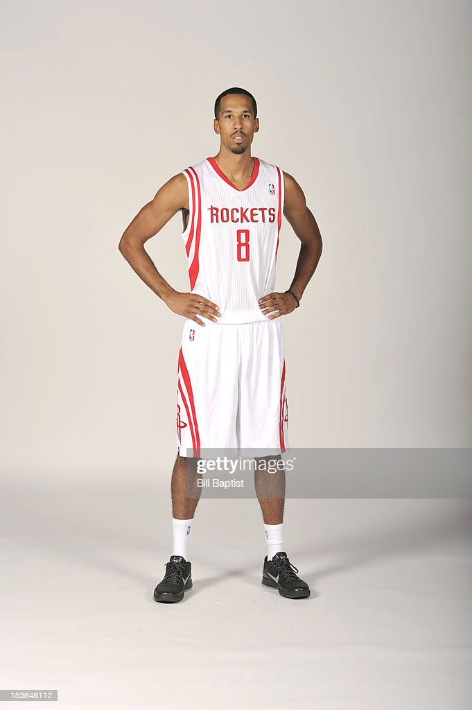 Shaun Livingston #8 of the Houston Rockets poses for a portrait during 2012 NBA Media Day on October 1, 2012 at the Toyota Center in Houston, Texas.