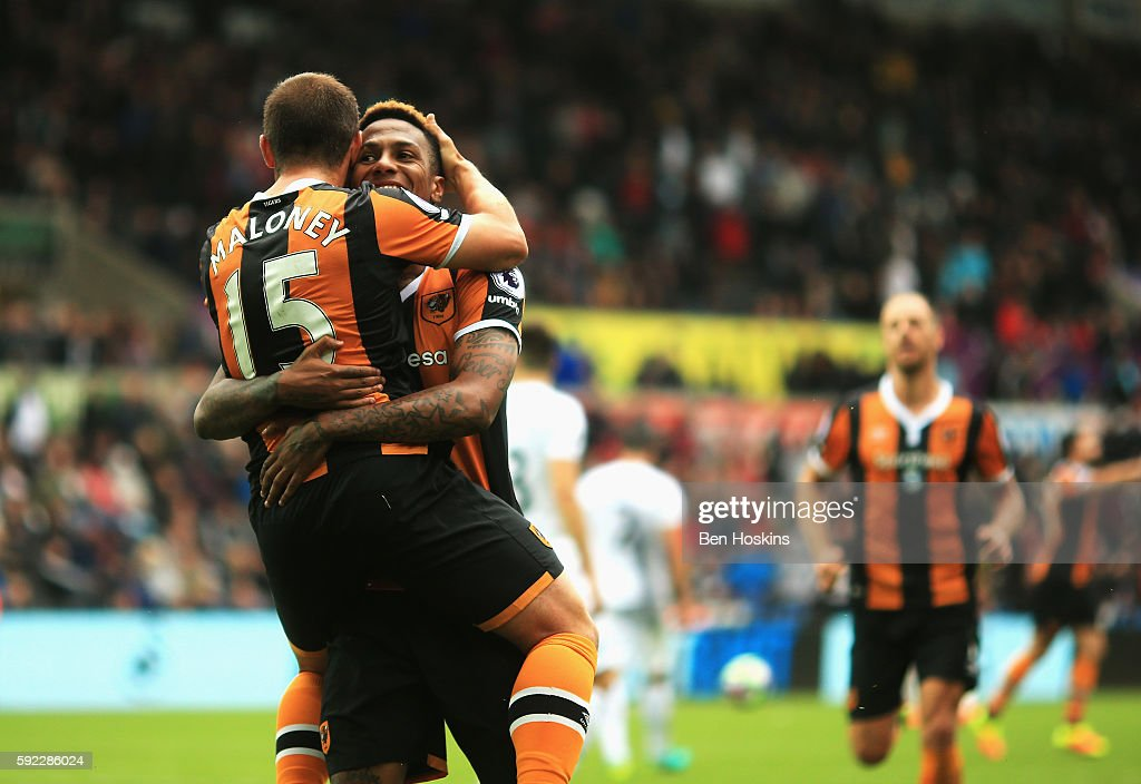Swansea City v Hull City - Premier League : News Photo