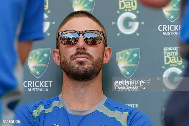 Shaun Marsh is seen during the Family Day At The G at Melbourne Cricket Ground on December 23 2015 in Melbourne Australia