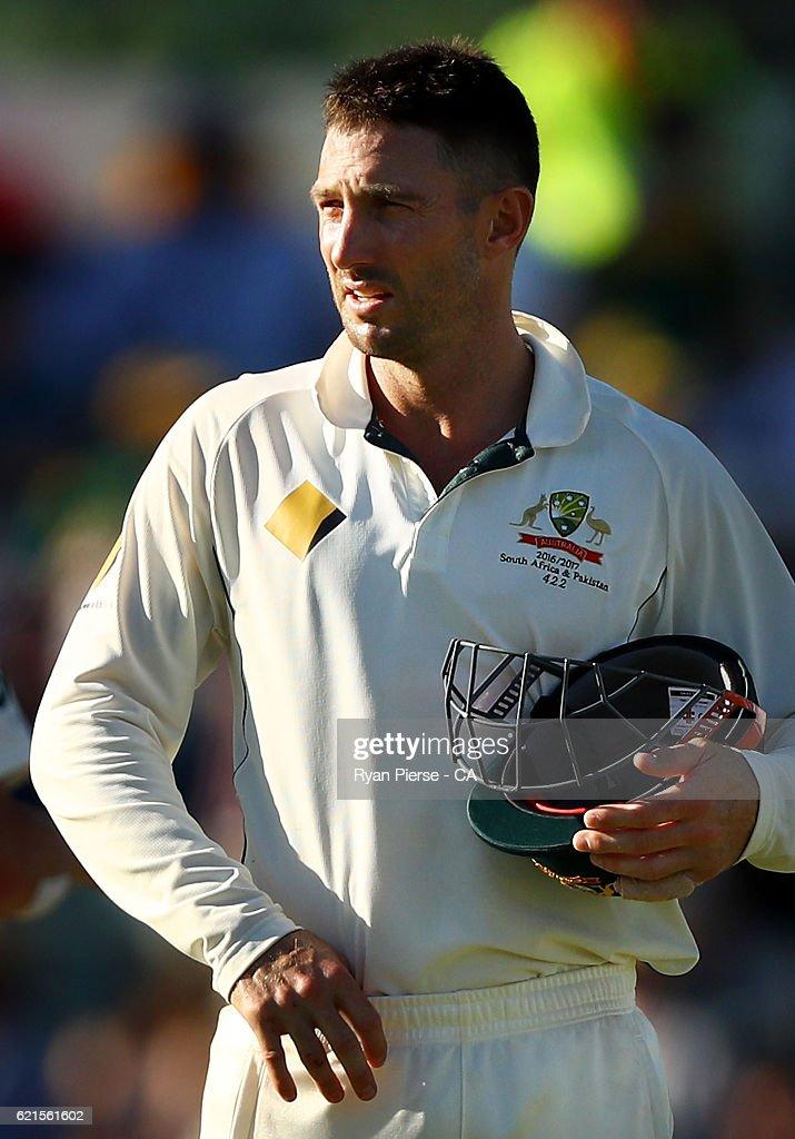 1st Test - Australia v South Africa: Day 3