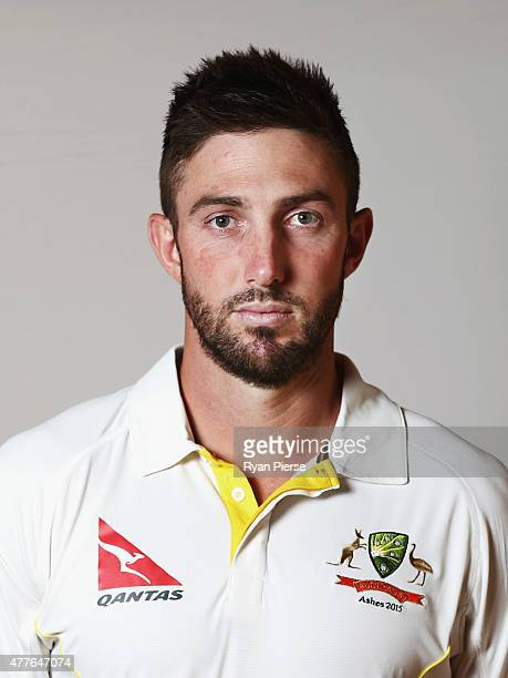Shaun Marsh of Australia poses during an Australian Cricket Team Ashes portrait session on June 1 2015 in Roseau Dominica