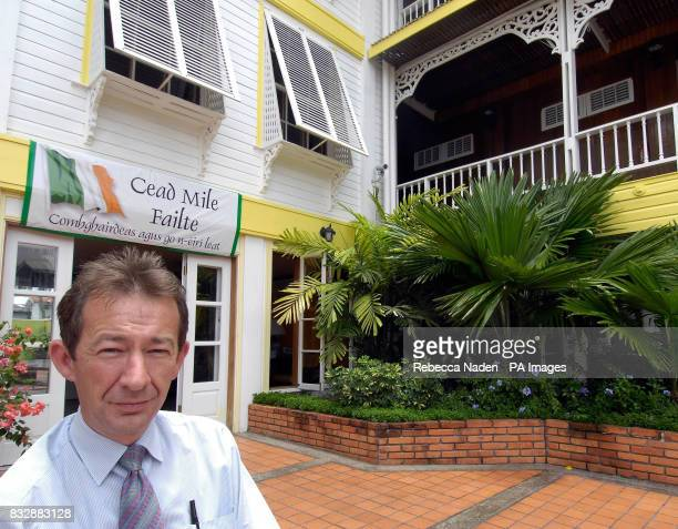 Shaun McGrath CoChairman of the Cara Hotels where the Irish Cricket team are staying McGrath has lived in Guyana for 18 years and predicted a year...