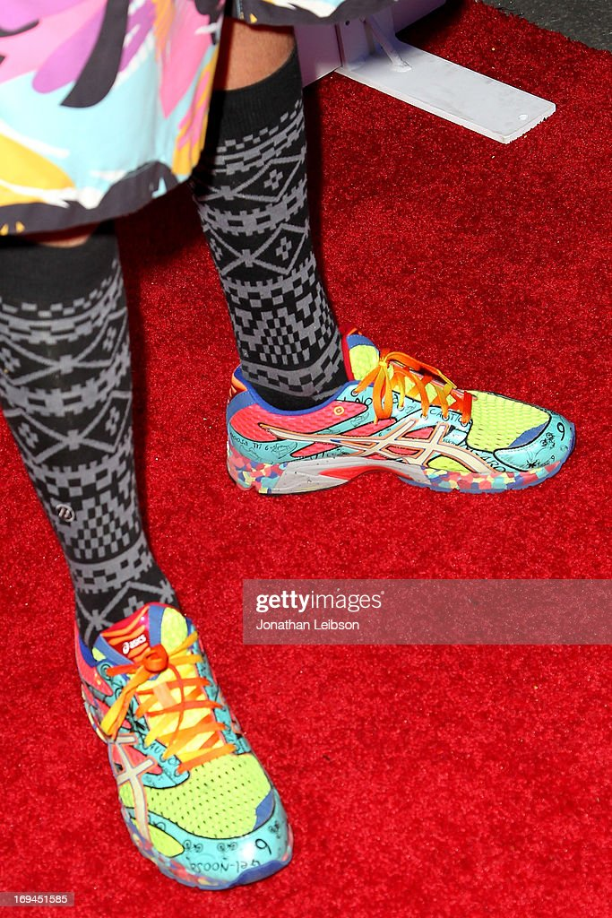 Shaun Neff attends the Electric Run Los Angeles Hosted By Vanessa Hudgens at The Home Depot Center on May 24, 2013 in Carson, California.