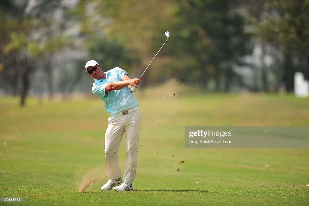 Shaun Norris of South Africa pictured during the final round of the Leopalace21 Myanmar Open at Royal Mingalardon Golf and Country Club on February 7, 2016 in Yangon, Myanmar.