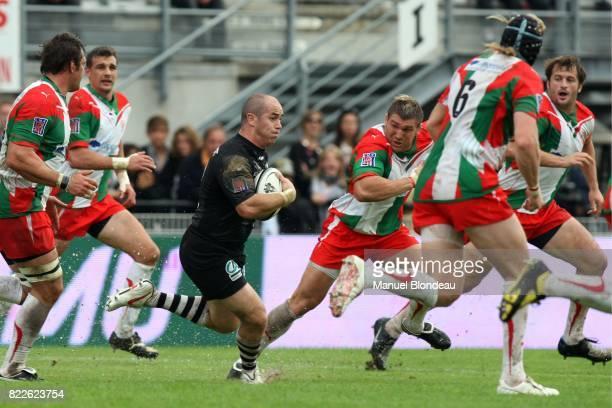 Shaun PERRY Brive / Biarritz 7eme journee de Top14