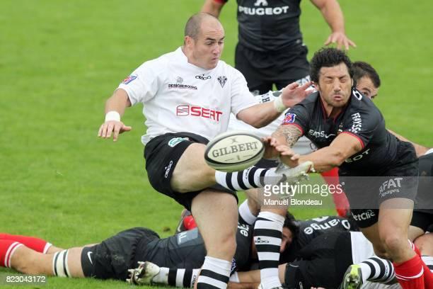 Shaun Perry / Byron Kelleher Brive / Toulouse 8eme journee de Top14 Stade Amedee Domenech Brive