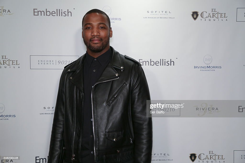 Shaun Phillips attends Larry English's Birthday Party at Sofitel Hotel on January 15, 2016 in Los Angeles, California.