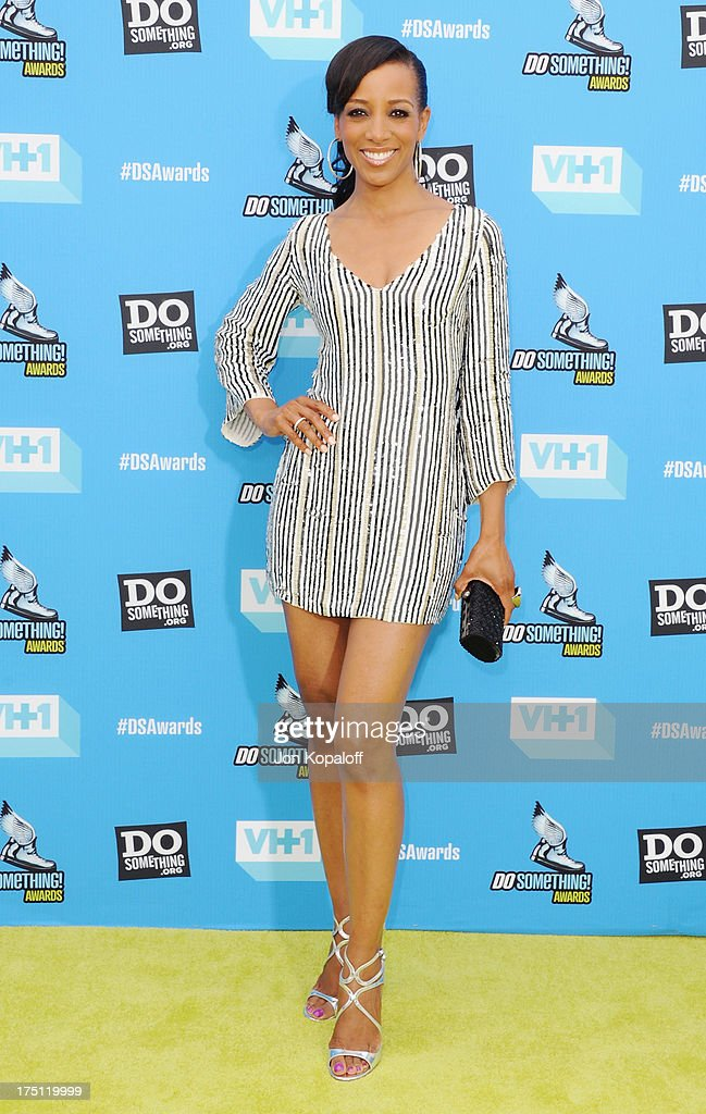 Shaun Robinson arrives at the 2013 Do Something Awards at Avalon on July 31 2013 in Hollywood California