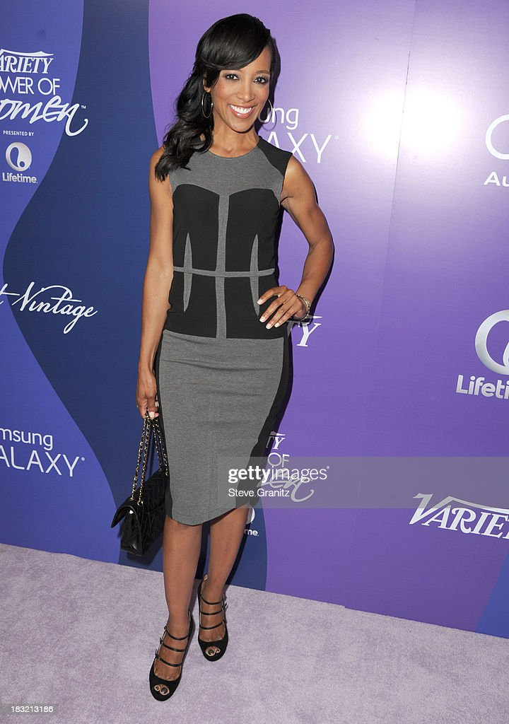 Shaun Robinson arrives at the Variety's 5th Annual Power Of Women Event at the Beverly Wilshire Four Seasons Hotel on October 4, 2013 in Beverly Hills, California.